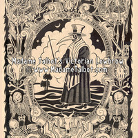 Madame Talbot's Victorian Lowbrow - Black Death Plague Doctor Poster