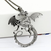 Game of thrones necklace Targaryen dragon Unisex