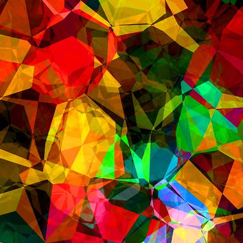 Colorful Abstract Shapes Pattern by sale