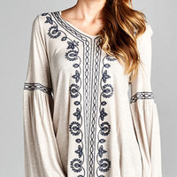 Whisk Me Away Bohemian Tunic
