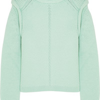 Chloé | Wool, silk and cashmere-blend sweater | NET-A-PORTER.COM