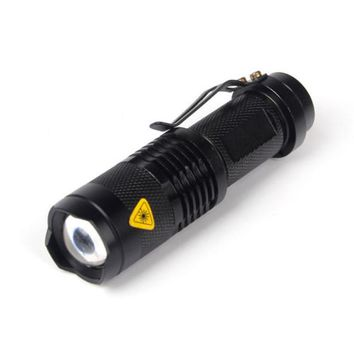 Super Bright Q5 1200 Lumen 14500 ZOOMABLE LED Waterproof Flashlight Torch Cycling Bicycle Bike Lights High Low Strobe 3 Modes