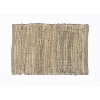 Eco-friendly Natural Jute Placemats, Set of 4, Natural Brown