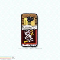 Wonka Bar, Golden TIcket, Custom Phone Case for Galaxy S4, S5, S6