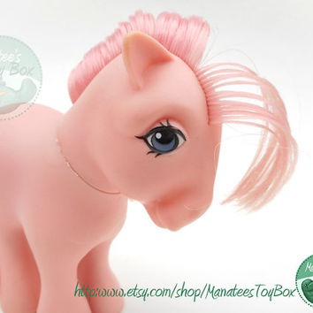 Vintage My Little Pony: Cotton Candy 80s Toy by Hasbro
