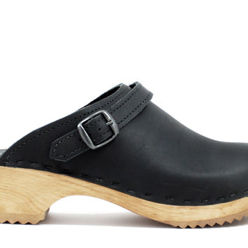 Buckle Clogs