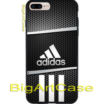 Best Adidas Logo Image Grill Print On Hard Plastic Case Cover iPhone 7, 7 plus