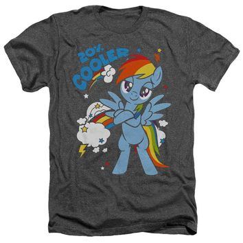 My Little Pony Heather T-Shirt Cooler Charcoal Tee