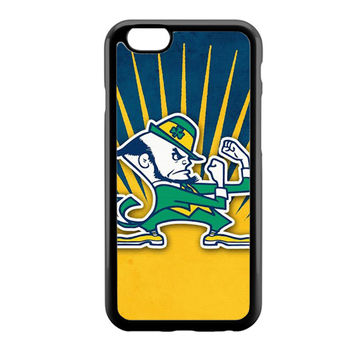 Notre Dame Fighting Irish Blue Yellow iPhone 6 Case
