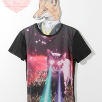Laser Cat Lord Tee