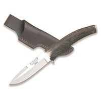 Joker Knives De Monte Fixed Hunting Knife w/Stag Horn Handle
