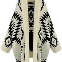 Geo Knit Cover-up