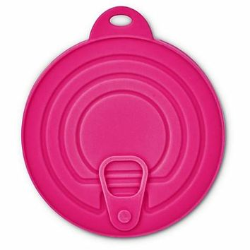 Bowlmates Can Lids in Pink and Navy Blue | Petco