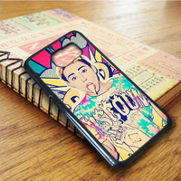 Miley Cyrus Pop Art Samsung Galaxy S6 Edge Case