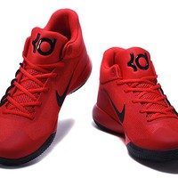 Nike  Zoom Kevin Durant   Trey6 Red /Black  Basketball Shoes