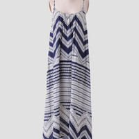 Resort Spa Printed Maxi Dress