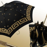 Marchesato Black and Gold Umbrella