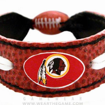 Gamewear NFL Leather Classic Wristband - Redskins