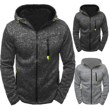 2018 Power Shield Special Offer Unisex Coat New Sport Leisure Jacquard Fleece Cardigan Hooded Jacket Time-limited Sale