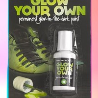 Mustard 'Glow Your Own' Permanent Glow In The Dark Paint
