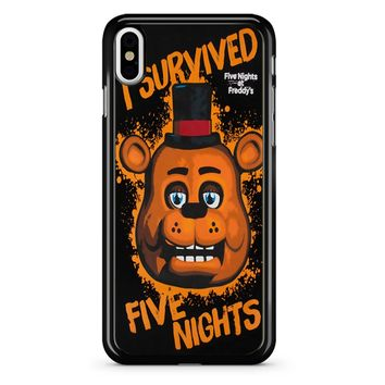 Five Nights At Freddy S I Survived iPhone X Case