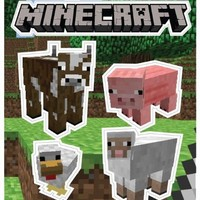 (5x7) Minecraft - Animals Sticker Pack