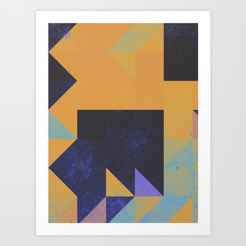Comfort ZOne Art Print by DuckyB