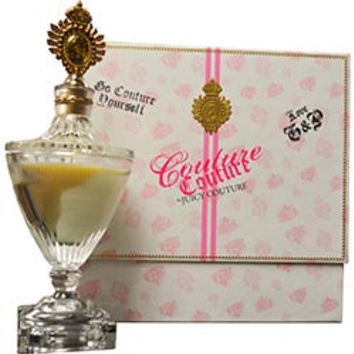Couture Couture By Juicy Couture Candle In Crystal Urn 12 oz