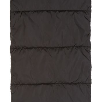 Dsquared2 Black Quilted Scarf