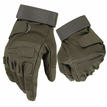 Black Hawk Tactical Gloves Military Armed Army Paintball Airsoft Combat Shooting Anti-Skid Tactics Knuckle Full Finger Gloves