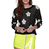 LA Hearts Cropped Graphic Pullover Sweater at PacSun.com