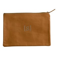 Everyday Leather Zip Pouch