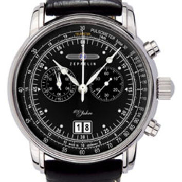 Graf Zeppelin 100 Years Chronograph Watch 7690-2