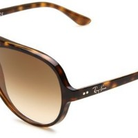 Amazon.com: Ray-Ban RB4125 Cats 5000 Sunglasses 59 mm,Tortoise/Brown: Clothing