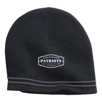The Ultimate Fan Of The New England Patriots Colorblock Beanie
