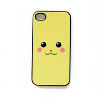 $14.00 Pikachu iPhone 4 Case New iPhone 4 & iPhone 4s by afterimages