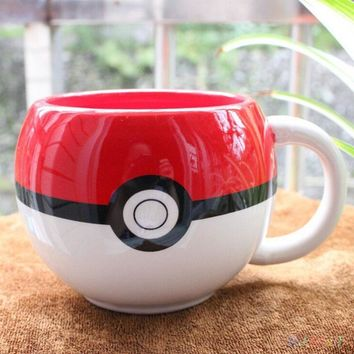 Creative 3D  Ceramic Mug Coffee Cup Pokemon Go