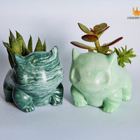 Made to Order ANY COLOUR Marbled Bulbasaur Pokémon Planter / Succulent Planter / Jewelry Holder Unique Gift