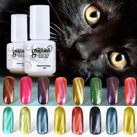Cat's Eye Gel Varnishes Nail Art UV Gel Nail Polish 3D Gel Polish Sexy Mix 5ml Soak Off Gels for Nails ZJ1350