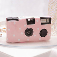 Single Use Camera – Polka Dot Design