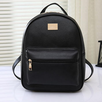 Women Genuine Leather Backpack School Bags For Girls High Quality Fashion Korean Backpacks Student Bookbag