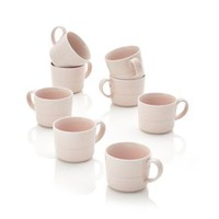 Hue Blush Mugs (Set of 8)