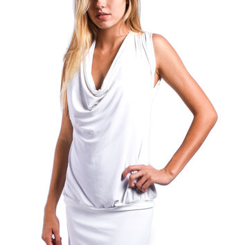 Sauvage White Resort Dress - Mon Cheri