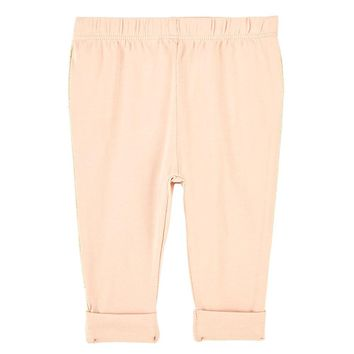 Baby Girls Pale Pink Leggings