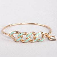 Everything to Chain Mint Bracelet