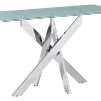 STANCE CONSOLE TABLE CRACKLED