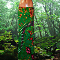 Forrest Goddess Tie Dyed Maxi Skirt **Only one available**