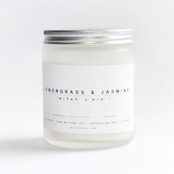 Scent of Thailand Lemongrass Jasmine Candle