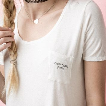 JENNAH FIRST CLASS EMBROIDERY TOP