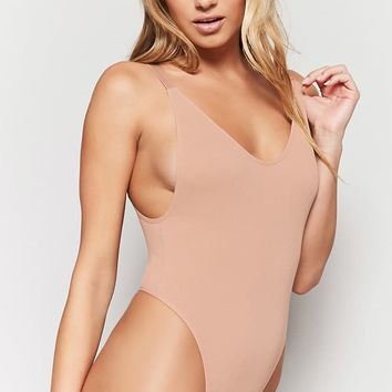 Scooped Thong Bodysuit